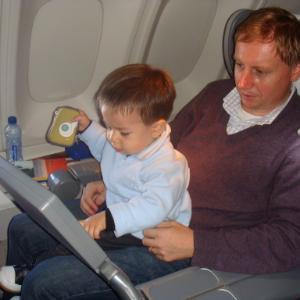 Авиаперелет с младенцем: в аэропорту и на борту