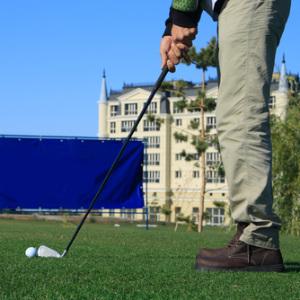 Гимнастика для пожилых: используем мячик
