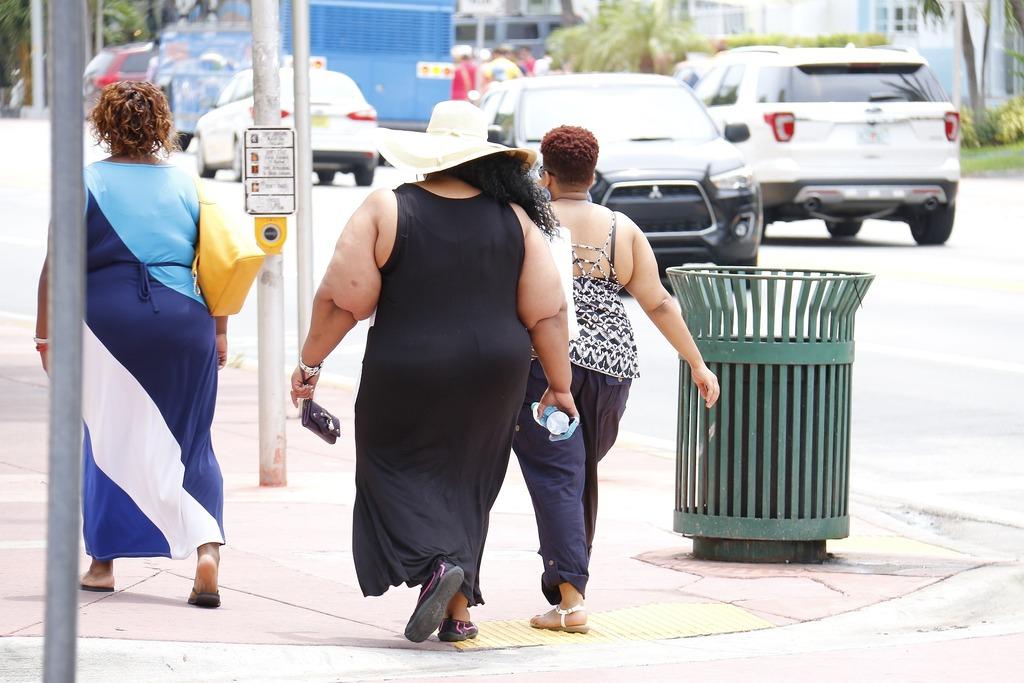 Население России стремительно набирает вес