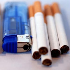 Звезды против сигарет