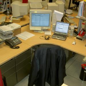 Идеальное рабочее место для офисного сотрудника
