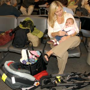 Авиаперелет с младенцем: подготовка