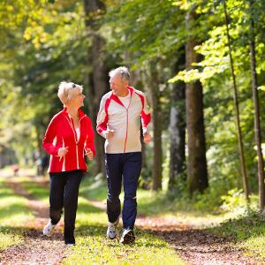 Физическая активность у пожилых людей