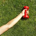 Упражнения с гантелями в положении лежа: часть вторая