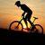 Люди, предпочитающие велосипед, более стройные