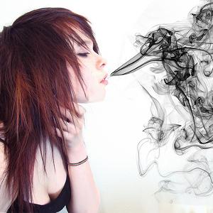 Вред пассивного курения для девушек