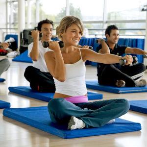 Фитнес помогает успокоиться