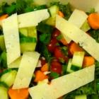 Овощи и сыр против чипсов