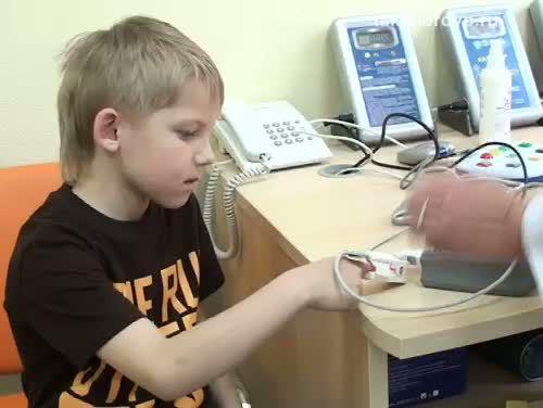 Детские центры здоровья: пульсоксиметр