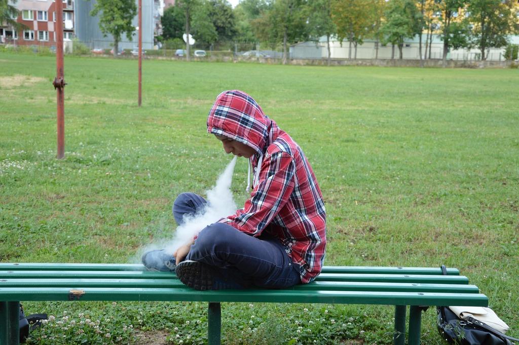 Пассивное курение электронных сигарет
