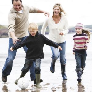 Дети защищают от простуды