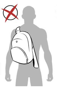 Как одевать лямки на рюкзаке рюкзак polar adventure черный