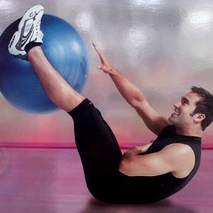 Фитбол: тренируемся с мячом