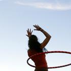 Упражнения с обручем: часть третья