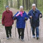 Нордическая ходьба поможет сердцу