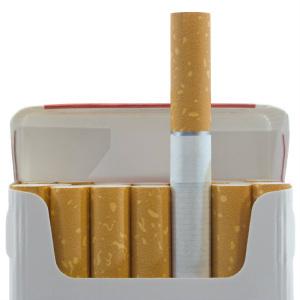 Невидимые сигареты Великобритании