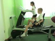 Детские Центры здоровья: группа ЛФК. Занятия на тренажерах